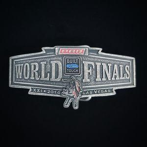 Montana Silversmiths PBR World Finals Belt Buckle